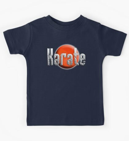Karate Kid, Karate, Empty Hand, Martial Art, on Black Kids Tee