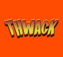 Cartoon THWACK by Chillee Wilson Kids Clothes
