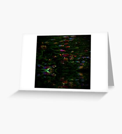 The Riot in the Garden of Eden Greeting Card