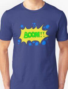 Cartoon BOOM by Chillee Wilson Unisex T-Shirt