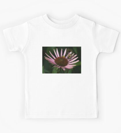 It's Getting Crowded on This Flower Kids Tee