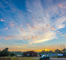 Sinrise Over The Clubhouse by colinstock