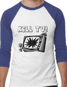 Kill TV by Chillee Wilson Men's Baseball ¾ T-Shirt