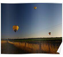 Sunrise Ballooning Poster