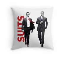 Suits Throw Pillow
