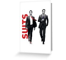 Suits Greeting Card