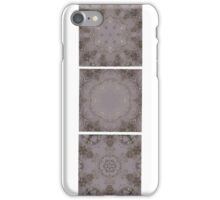 Rain Puddle Tryptich  iPhone Case/Skin