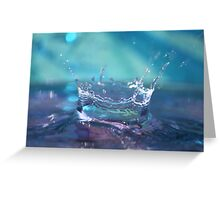 Soft Splash Greeting Card