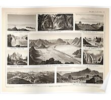 Atlas zu Alex V Humbolt's Cosmos 1851 0176 A Collection of Natural Wonders Poster