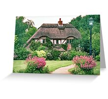Lilliput Lane Cottage, Lake District, England, Greeting Card