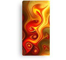 Fiery Canvas Print