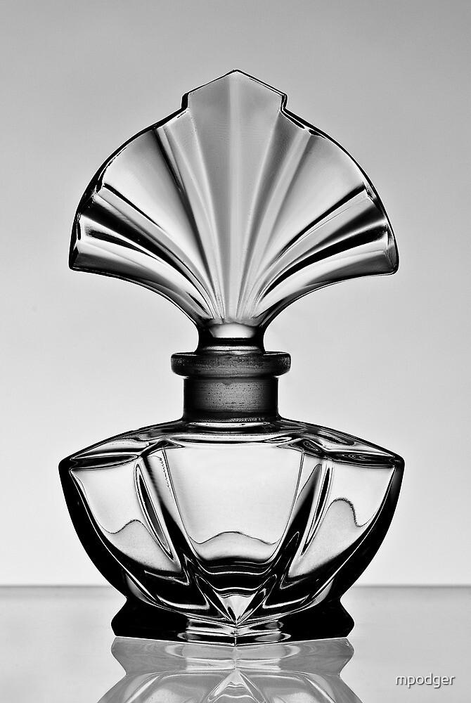 Perfume bottle in black and white - Print by Mark Podger