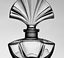 Perfume bottle in black and white - Print by Mark Podger