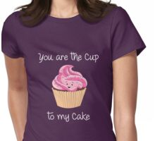 My Cupcake - Pink version Womens Fitted T-Shirt