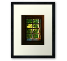 View from the Orwell Corner Church Framed Print