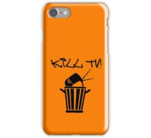 Kill TV [2] by Chillee Wilson iPhone Case/Skin