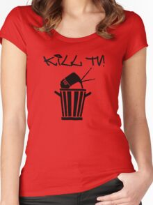 Kill TV [2] by Chillee Wilson Women's Fitted Scoop T-Shirt