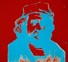 Red, White, & Blue Negative Rembrandt by JETIII
