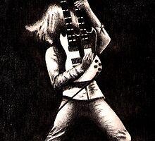 Guitar Twofold by hollyspirit