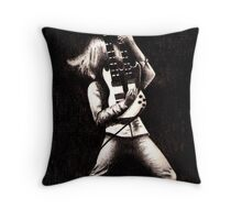 Guitar Twofold Throw Pillow