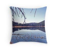 Twin Lakes Yellowstone Throw Pillow