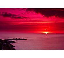 Dalkey sunrise Photographic Print