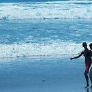 Beach walk... by Marjorie Wallace