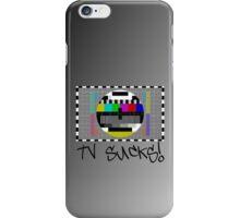 TV Sucks! by Chillee Wilson iPhone Case/Skin