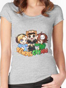 PewdieCryKen Women's Fitted Scoop T-Shirt
