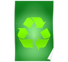 Recycle Symbol by Chillee Wilson Poster