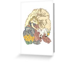 March Winds Greeting Card