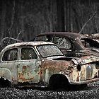 Automotive Graveyard by Malcolm Heberle