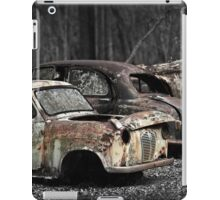 Automotive Graveyard iPad Case/Skin