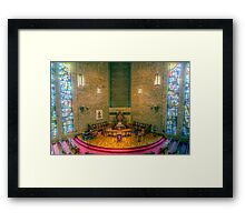 First Presbyterian HDR Framed Print