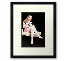 Lovely long legs Framed Print