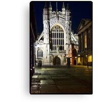 Bath Cathedral Canvas Print