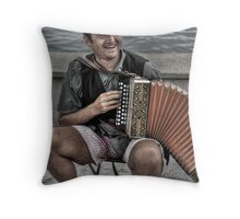 Merry Music Throw Pillow