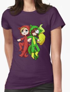 """PewDieCry """"Bloody Trapland"""" Womens Fitted T-Shirt"""