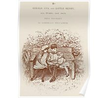 Rhymes for the Young Folk William and Hellen Allingham art Kate Greenaway 0007 Dedication Poster