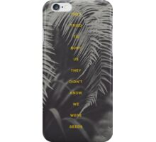 Bury Us iPhone Case/Skin