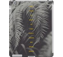Bury Us iPad Case/Skin