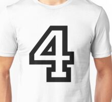 Number Four Unisex T-Shirt