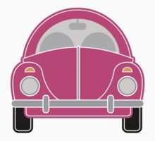 Pink Car Kids Clothes