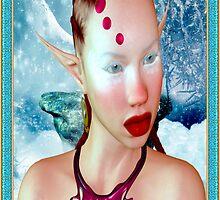 Enchanted Snow Elf by Junior Mclean