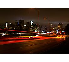 A night at Riverside Photographic Print
