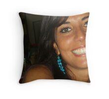A BeautifulGirl Throw Pillow
