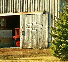 Chevy Barn Door by kodakcameragirl