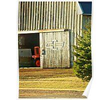 Chevy Barn Door Poster