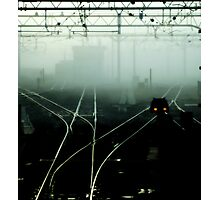 asa no densha Photographic Print