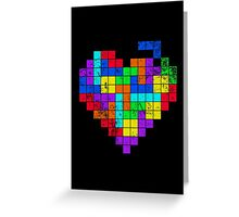 THE GAME OF LOVE ( Dark Version ) Greeting Card